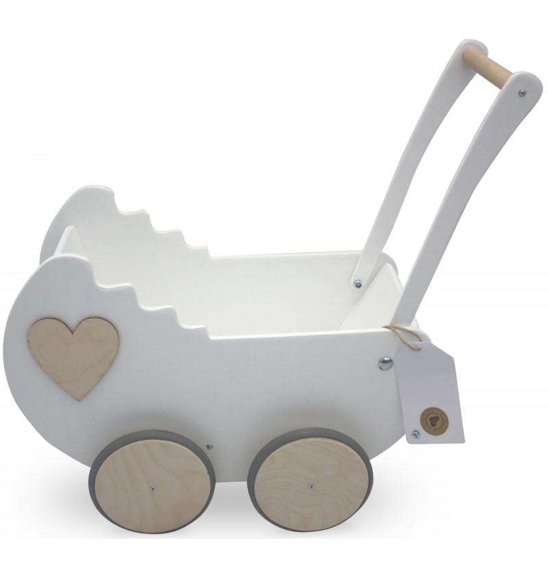 Wózek Drewniany dla lalek HIT!JEDYNY- 7 WZORÓW